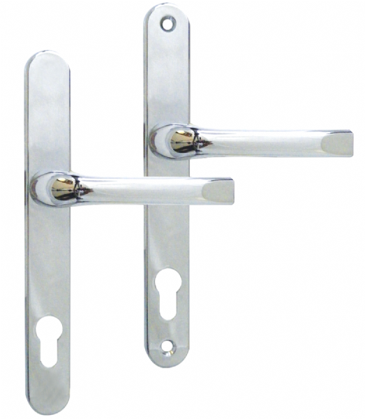 92-200 UPVC Door Handle - Chrome